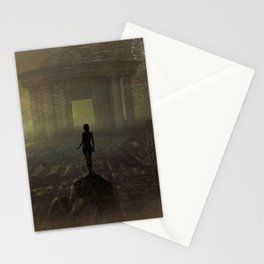 Awakenings (The World Is Yours) landscape painting Stationery Cards