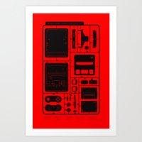 Super Home Video Computer Art Print