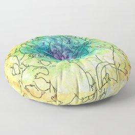 Peace Love & Chubs Floor Pillow