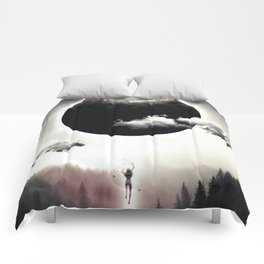 A Dream of Gravity Comforters