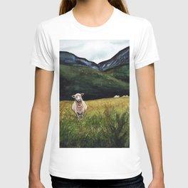 Sheep on a Hill T-shirt