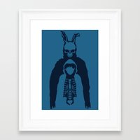 donnie darko Framed Art Prints featuring Donnie Darko by sgrunfo
