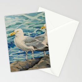 Gull Pair Stationery Cards