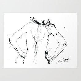 Yuko Art Print