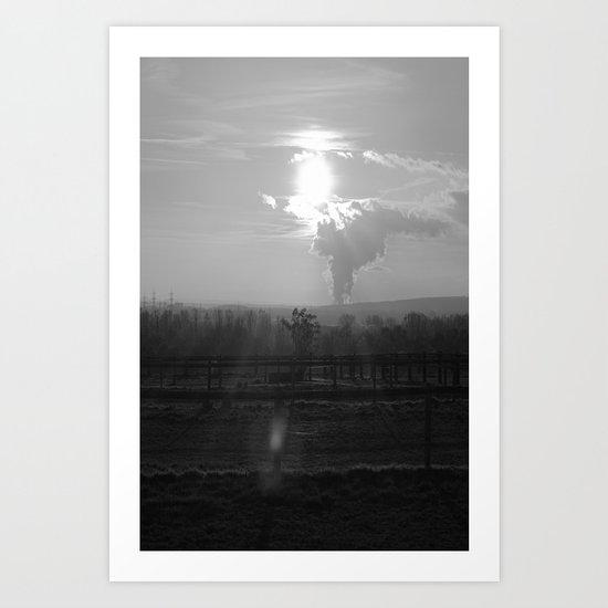 Weide Art Print