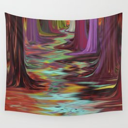 Styx River Wall Tapestry