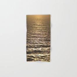 Sun ray on the sea Hand & Bath Towel