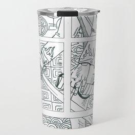 Modern Day Samurai Travel Mug