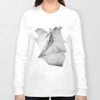 triangle Long Sleeve T-shirts featuring triangle by Katekima