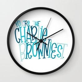 Charlie Browniest Wall Clock