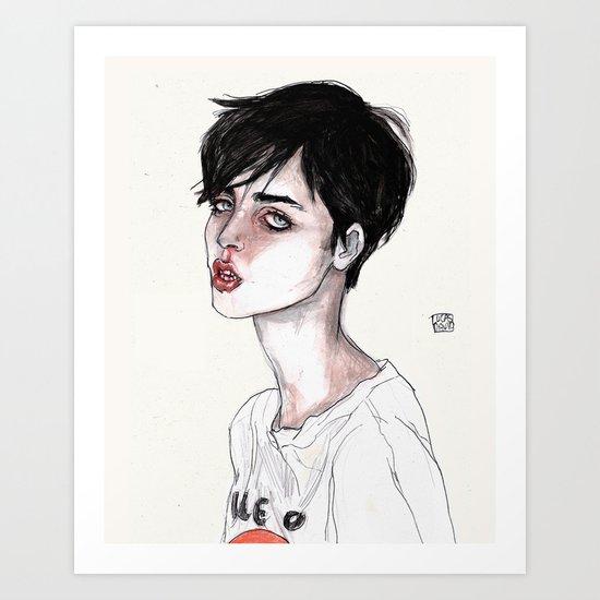 Lucas David's Fave Art Print
