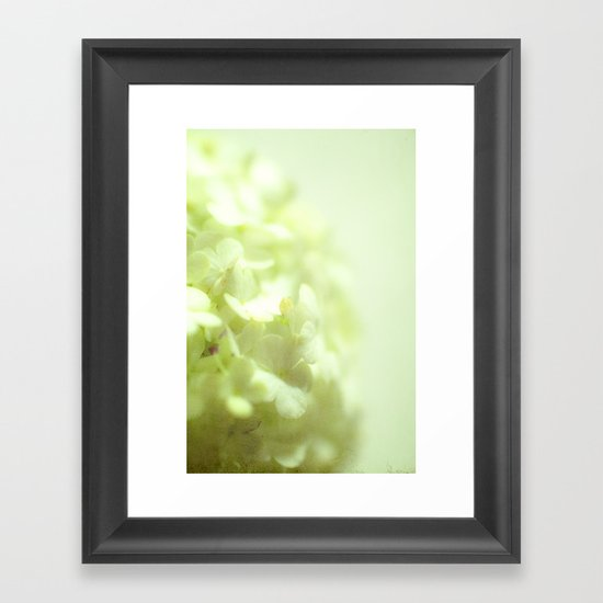 {delicate} Framed Art Print
