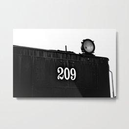 No 209 Spotlight Metal Print