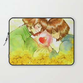 Frisk n Chara  Undertale Laptop Sleeve