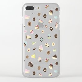 sweets & treats Clear iPhone Case