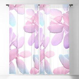 Unicorn Cacti Vibes #1 #pastel #pattern #decor #art #society6 Blackout Curtain