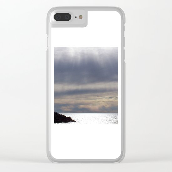 Raining Sunlight Clear iPhone Case