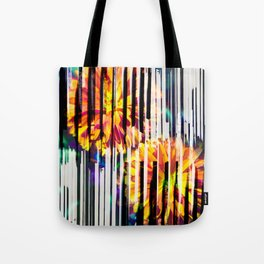 Floral Keys [orange] Tote Bag