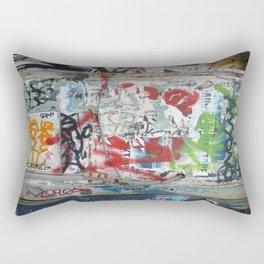 Tagging, Paris Rectangular Pillow