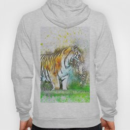 Tiger Cub Carrying Hoody