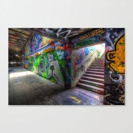 Leake Street London Graffiti Canvas Print
