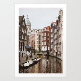 Amsterdam love II Art Print