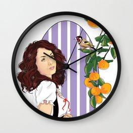 U Re Bafè Wall Clock