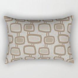 Dangling Rectangles in Brown Rectangular Pillow