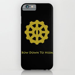 Bow Down To Heda 2 iPhone Case