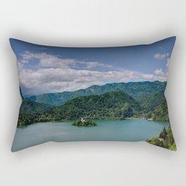 Little Island Rectangular Pillow