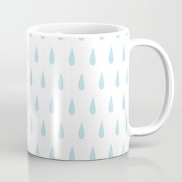 drops pattern blue Coffee Mug