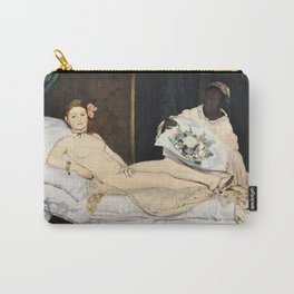 Edouard Manet - Olympia Carry-All Pouch