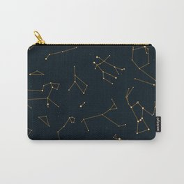 Bronze Constellations Carry-All Pouch