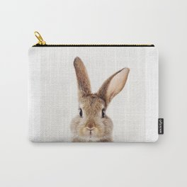 Baby Rabbit, Baby Animals Art Print By Synplus Carry-All Pouch