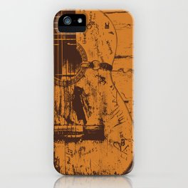 Trigger - Acoustic Guitar - Willie Nelson iPhone Case
