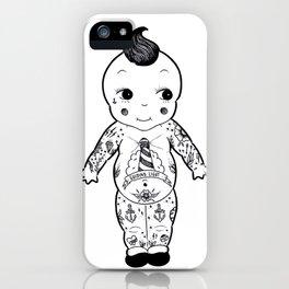 Tattooed Kewpie Doll iPhone Case