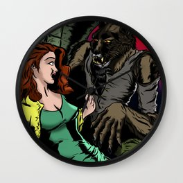 NIGHT STALKER Wall Clock