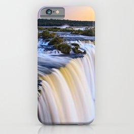 Nature argentina brazil waterfalls iguazu falls iPhone Case