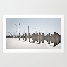 horizontal #4 Art Print