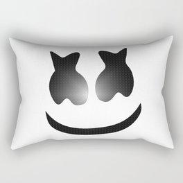 marshmello icon textured Rectangular Pillow