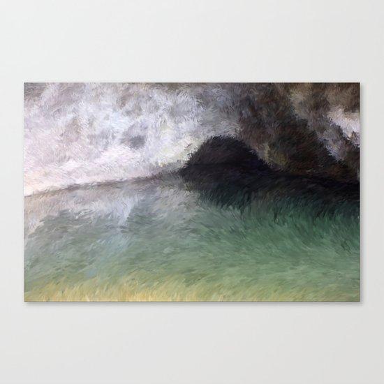 Kaua'i Cave Canvas Print