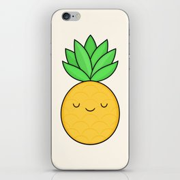Happy Pineapple iPhone Skin