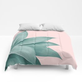 Agave Finesse #3 #tropical #decor #art #society6 Comforters
