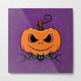 Pumpkin King Metal Print