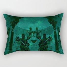Fight Among the Gods Rectangular Pillow
