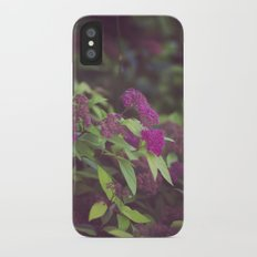 purple flower. Slim Case iPhone X
