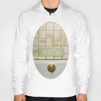 bath Hoodies featuring Bath by Misspeden