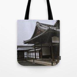 Temple at Kinkakuji in Kyoto, Japan Tote Bag