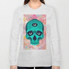SKULL X BACK Long Sleeve T-shirt