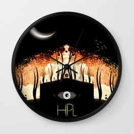 The Dream-Quest Of Unknown Kadath Wall Clock